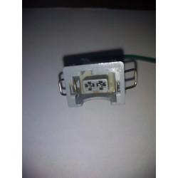 Arnes / conector para sensor de temperatura nissan (azul)